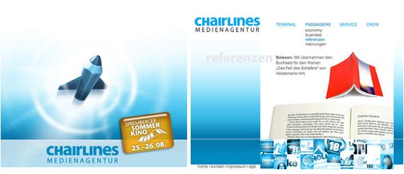 chairlines pages